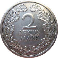 J320  2 Mark Weimar von 1927 J in SS+   666 269