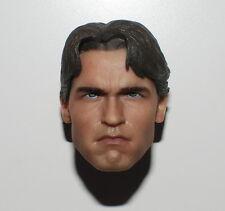█ Custom Arnold Schwarzenegger T800 Terminator 1/6 Head Sculpt Phicen M34 Body