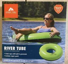Ozark Trail Inflatable River Lake Pool Rafting Water Inner Tube Green New
