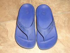 Crocs Blue Flip Flop Sandals Size 1