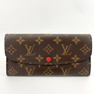 LOUIS VUITTON purse M60697 Portefeiulle Emily Monogram canvas Women