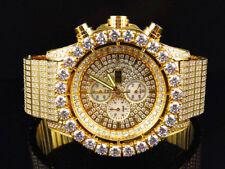 New Mens Jewelry Unlimited Jojino Joe Rodeo Simulated Diamond Watch 48MM BR-01