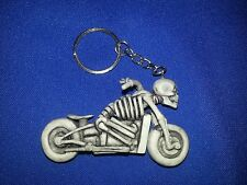 Skeleton Bobber Chopper Key Chain