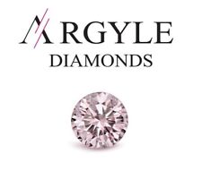 0.08ct Pink Diamond - Natural Loose Pink Fancy 9P Color ARGYLE Mine SI1 Round