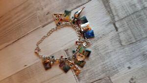 Harry Potter themed charm bracelet Witch wizard