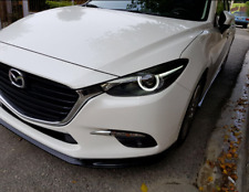 mazda 3  2017  Front Bumper Lip Spoiler  Body Kit Difuser