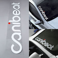 Array CANIBEAT Hellaflush Car Styling Front Windshield Reflective Decal Sticker