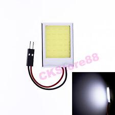 T10 BA9S Festoon Bright 6W COB White LED Board Festoon Door Dome Number Light