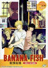 Banana Fish Animation DVD (Vol.1-24 end) with English Subtitle