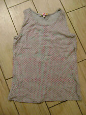 M&S grey vest with pink spots.  Age 12 years