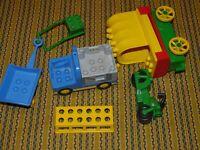 LEGO DUPLO Lot Train Car Bottoms Wheels Vtg Parts