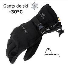 Gants De Ski Hiver Pour Hommes Snowboard Motoneiges Imperméable Grandeur Large