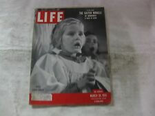 Easter Life Magazine March 26th 1951 Child Choir Singer Published By Time  mg430