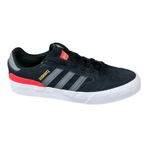 Adidas Originals Busenitz Vulc II Black Suede Skateboarding Shoes Mens 13