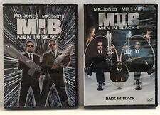 New listing New! lot (2) Men In Black & Mib Ii Dvd Will Smith Tommy Lee Jones alien movie