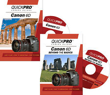 QUICKPro Training DVD Canon EOS 6D Set ->NEW< Free US Shipping