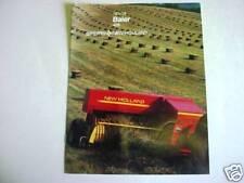 2 New Holland 426 Baler & Bale Thrower Brochures