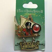 WDW - Piece of Disney History III - Pirates of the Caribbean Disney Pin 65336
