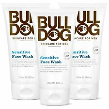 Bulldog Sensitive Face Wash 150ml - 3 Pack
