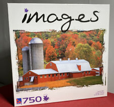 """Images 'Country Barn' 750 Piece Jigsaw Puzzle 15.5""""x23.5"""" Sure-Lox Sealed"""