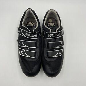 Pearl Izumi Quest MTB 5727 Black Cycling Shoes With Cleats Men's EU 42, US 8.5