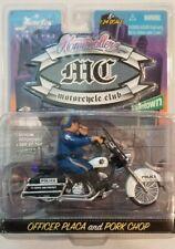 Jada Homierollerz Mc Motorcycle Club Officer Placa Police Diecast Car Toy Nip 05