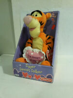 Disney Tigger Winnie the Pooh sweet talker talks 2003 issued Fisher Price w box