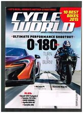 CYCLE WORLD SEPTEMBER 2015 SEE CONTENTS PAGE IN SECOND PHOTO