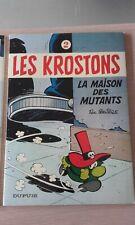 EO - Les Krostons N°2 - La maison des mutants - Coté 25 eur - 1979