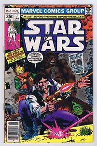 Star Wars #7 FN/VF Pizzazz Variant Signed w/COA Howard Chaykin 1977 Marvel EU