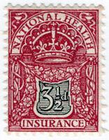 (I.B) George V Revenue : National Health & Insurance 3½d