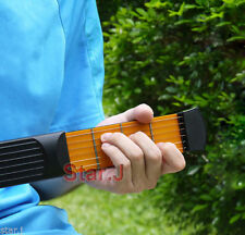 1pc Portable Pocket Guitar Practice Strings Tool Gadget 4 Fret for Beginner