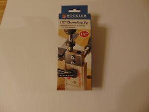 ROCKLER 45367- 1/2 Dowel Drilling Jig Kit