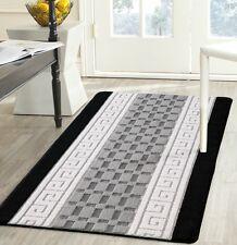 Gel Back Rug Carpet Runner Non Shed Yarn anti Allergic Square Multi Colour
