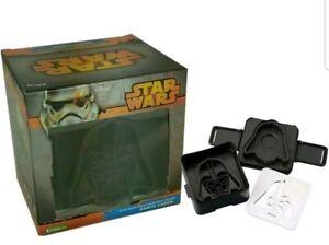 STAR WARS disney  Darth Vader  Sandwich Toaster  Shaper Mould school lunch new