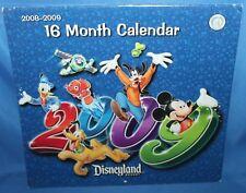 New listing Disneyland Resort 2008-2009 16 Month Calendar