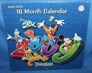 Disneyland Resort 2008-2009 16 Month Calendar