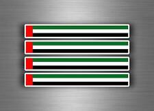 4x sticker decal car stripe racing flag  moto tuning EAU emirates arab united