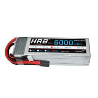 USED HRB 14.8V 4S 6000mAh RC Lipo Battery 50C 100C TRX for Traxxas Car Drone FPV