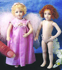 """Angelica""   6"" Tall Doreen Sinnett Doll Mold."