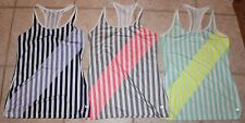 Gap Fit Womens Small Set of 3 Racer Back Running Yoga Crossfit Athletic Tops