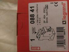 LEGRAND 08841Interrupteur diffl DX³-ID 2P 40 30mA Type A