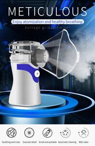 PORTABLE HANDHELD  ULTRASONIC MESH RESPIRATOR ASTHMA NEBULIZE INHALER