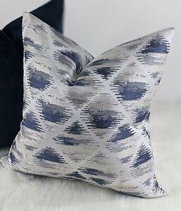 Etterick Indigo Fabric Cushion cover Handmade Double Sided