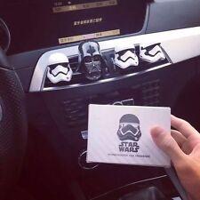 Auto Car Perfume Diffuser Darth Vader head Car Vent Air Freshener Black