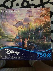 750 Piece Jigsaw Puzzle Disney Thomas Kinkade  Mulan