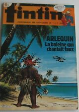 Journal Tintin No No 40 Harlequin the Whale Which Sang Faux Chick Bill 1984