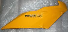 carénage flanc supérieur droit Ducati Superbike 749 de 2005 réf.48011851CB neuf