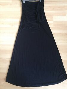 BNWOT, Ladies Black Sleeveless Maxi Dress, Next, Size 14