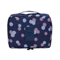 US Women Multifunction Travel Cosmetic Makeup Case Pouch Toiletry Organizer BY